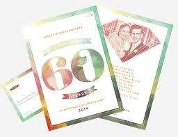 60 year wedding anniversary 60th wedding anniversary invitations creative clarity