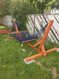 hammock stand indoor u0026 outdoor 4 steps