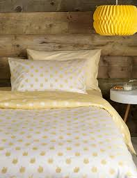 apples design bedding set for children in yellow 100 cotton