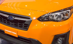 subaru orange crosstrek 2017 new york auto show 2018 subaru crosstrek autonxt