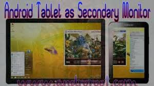 idisplay apk how to use your android tabletas a secondary monitor with idisplay