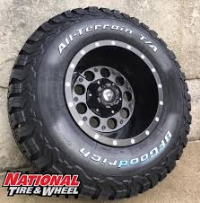 lexus wheels and tires packages 15x10 fuel offroad revolver 31x10 50r15 bfgoodrich tires ko2