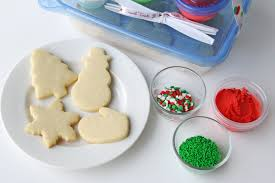 cookie decorating kits for kids and easy butter frosting recipe
