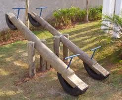 Natural Playground Ideas Backyard Idéias Para Campos E Jardins Playground De Eucalipto Amaru