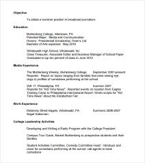 high resume for college application college freshman