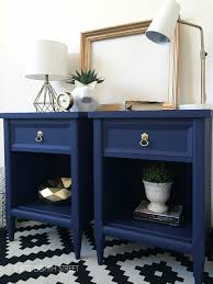 nightstand ideas modern painted nightstands with country chic paint thirty eighth