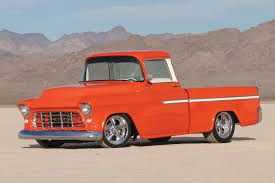 Classic Chevy Custom Trucks - 1955 chevy cameo with a corvette engine yeah antique cars