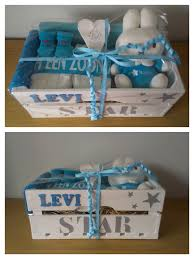 houten kratje u0027levi u0027 baby shower gifts pinterest wooden