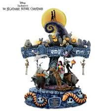 tim burtons the nightmare before musical carousel lights up