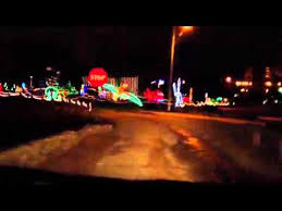 christmas lights in michigan 2011 holiday lights michigan city in youtube