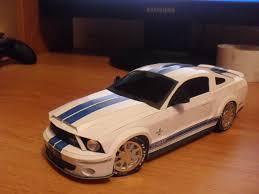 2010 mustang models ford mustang shelby gt 500 in scale 1 18 racing paper models