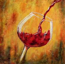 accessories and furniture cool abstract art oil painting wall wine
