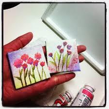 mini canvas paintings diy u0026 crafts pinterest mini canvas