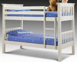 Wooden Bunk Beds White Wooden Bunk Beds Are A Good Choice For You Jitco Furniture
