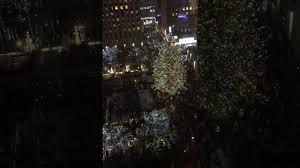 rockefeller center tree lighting 2016