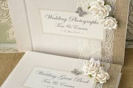 wedding album books creative bridal personalised wedding guest books and wedding