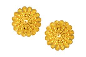 gold erring gold earring rbb 2259 gold earrings jewellery