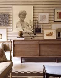 Midcentury Modern Buffet - thom filicia living rooms walnut mid century modern credenza