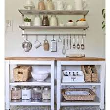 Open Cabinet Kitchen Ideas In This Rustic Kitchen You Will See A Return To A More Simple Life