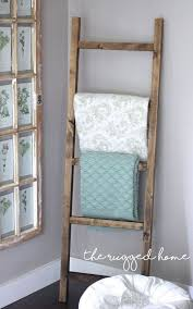 25 unique wooden ladder decor ideas on pinterest wooden ladder
