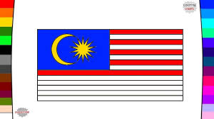 flags of asia countries part 1 flag coloring pages youtube