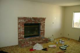How To Decorate A Living Room With A Red Brick Fireplace 10 Fireplace Before And After Diy Projects