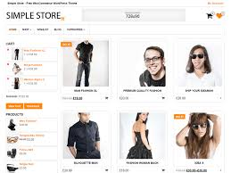 woocommerce themes store simple store free wordpress themes