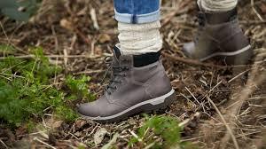 womens boots tex ecco gora s outdoor boots