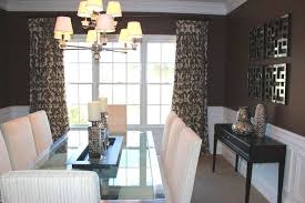 silver dining room modern silver and brown dining room