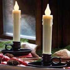 world candles for window decorations gentle glowing