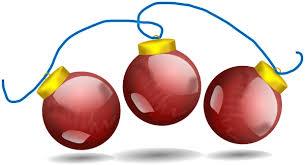 Christmas Decorations Clipart Cartoon 2014