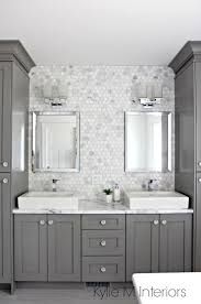 best 25 small grey bathrooms ideas on pinterest grey bathrooms a marble inspired ensuite bathroom budget friendly too