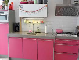 pink kitchen decorating ideas in elegant style home design
