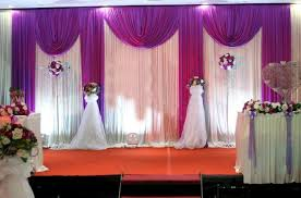 wedding backdrop aliexpress 6x3m ready made wedding backdrop with pleated swags for