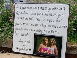 matron of honor poem wedding gift for imbusy for