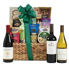 Wine Basket Gifts Gifts Bubblebath Wine