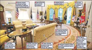 Trump Oval Office Rug Pressreader Daily Mail 2017 08 24 Second Hand Oval Office