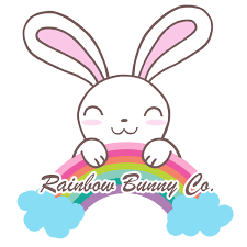 original hand drawn stickers and stationery by rainbowbunnyco