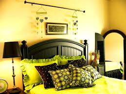 Bedroom Likable Green Bedrooms Light Brown And Gray Lime Bedroom