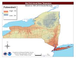 New York Area Code Map by Local Climate Data And Plots
