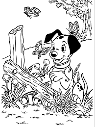 101 dalmatians coloring pages coloring