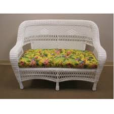 Wicker Loveseat Replacement Cushions Standard Size Cushions