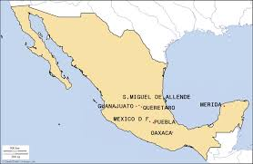 Oaxaca Mexico Map We Are Mexico In Vancouver We Are Mexico In Vancouver The
