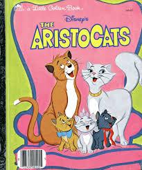 aristocats golden book walt disney company