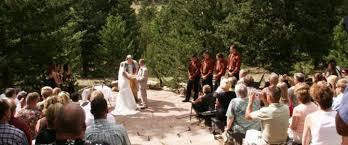 colorado mountain wedding venues colorado mountain ranch wedding packages