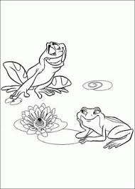 Tiana And Naveen Coloring Pages The Frog Tiana And Frog Naveen Princess And The Frog Sheets