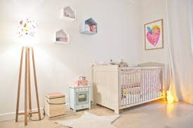 éclairage chambre bébé appartement contemporain chambre de bébé par
