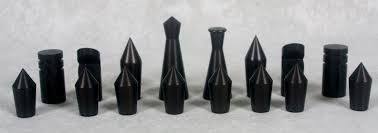 aluminum machined chess set anyone know this desig the ebay
