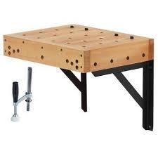 Work Bench Table Wood Workbenches U0026 Workbench Accessories Garage Storage The