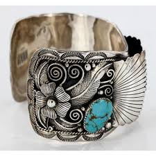 cuff bracelet watches images Collectable handmade certified authentic navajo 925 sterling jpg